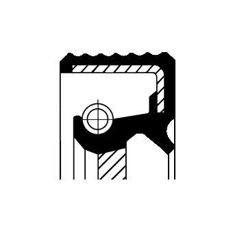 CORTECO 12010674B Võlli rõngastihend, Käigukast