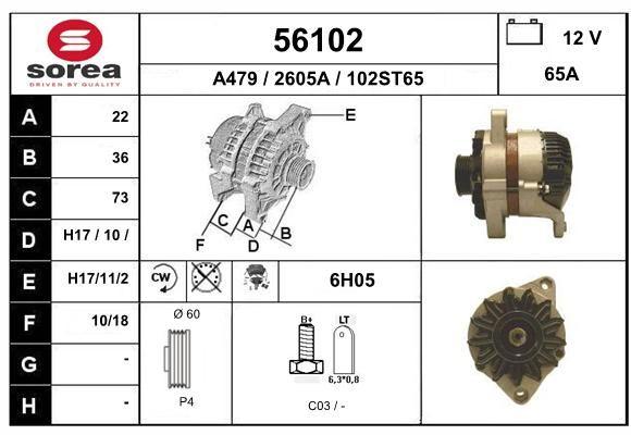EAI Generaator 56102