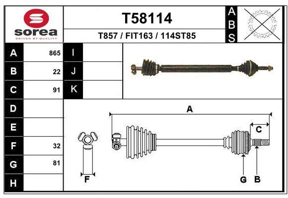 EAI T58114 Veovõll
