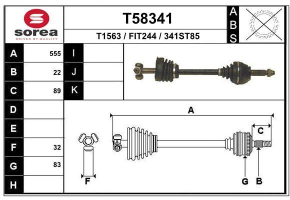 EAI T58341 Veovõll