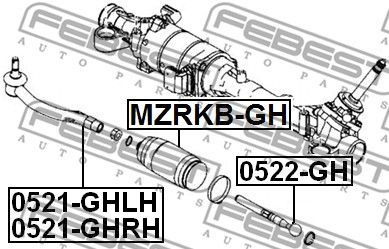 FEBEST 0521-GHRH Rooliots