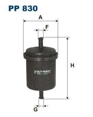 FILTRON PP 830 Kütusefilter