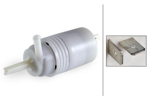 HELLA 8TW 004 223-031 Klaasipesuvee pump, tulepesur