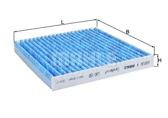 KNECHT LAO 158 Filter,salongiõhk