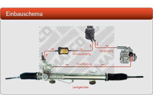 MAPCO 29990 Hüdraulikafilter,roolimine