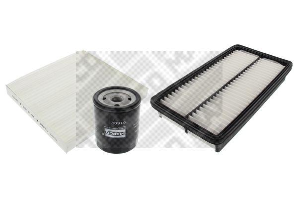 MAPCO 68555 Filter-komplekt
