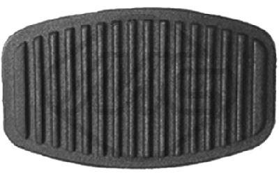 METALCAUCHO 00413 Pedaalikate, siduripedaal