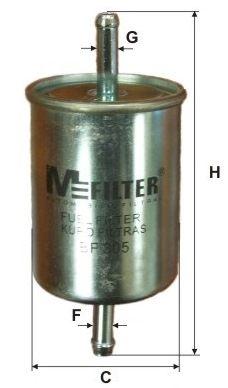MFILTER BF 305 Kütusefilter