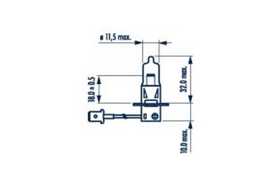NARVA 48633 Hõõgpirn,udutuled