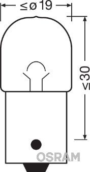 OSRAM 5007 Hõõgpirn, parkimis-/positsioonituli