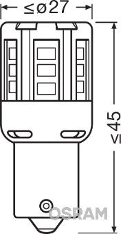 OSRAM Hõõgpirn, päevatuli 7456CW-02B