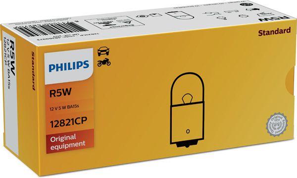PHILIPS 12821CP Hõõgpirn, parkimis-/positsioonituli