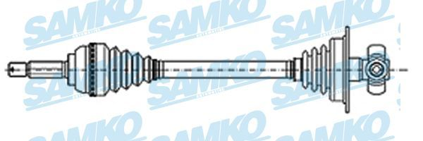SAMKO DS20143 Veovõll