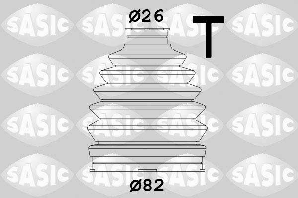SASIC 1906063 Kaitsekummikomplekt, veovõll