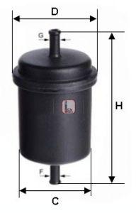 SOFIMA S 3900 B Kütusefilter
